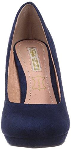 Buffalo H748-1 P1804D - zapatos de tacón cerrados de material sintético mujer azul - azul (marino)