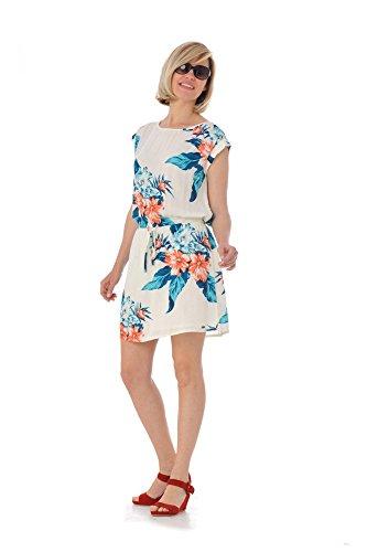 Kaporal Jeans - kaporal Dress Rokia blanco hueso