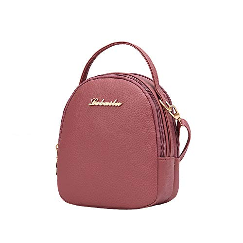 Rucksacks Clearance Women's Soft Bags Bag Shopping Shoulder Crossbody Watermelon Red Casual Small Style AgrinTo 5Y1n6p1wqx