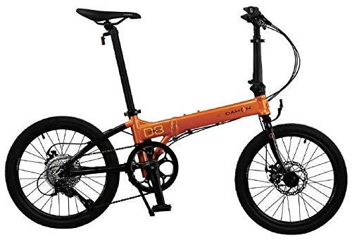 Dahon Launch D8 Folding Bicycle, Orange/Black