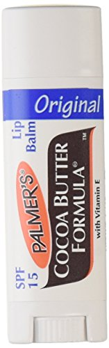 Palmers Cocoa Butter Lip Balm SPF 15, 0.15 Oz (Pack of 6) (Ounce 0.15 Balm)