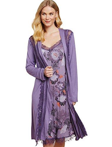 Jessica Simpson Lace Trim Maternity Robe
