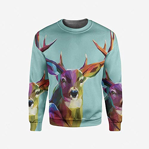 iPrint Mens Wanderlust Decor Pullover Sweater by iPrint