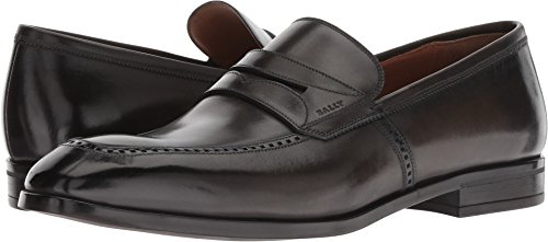 Bally Leather Loafers - BALLY  Men's Larso Loafer Fango 9.5 D UK