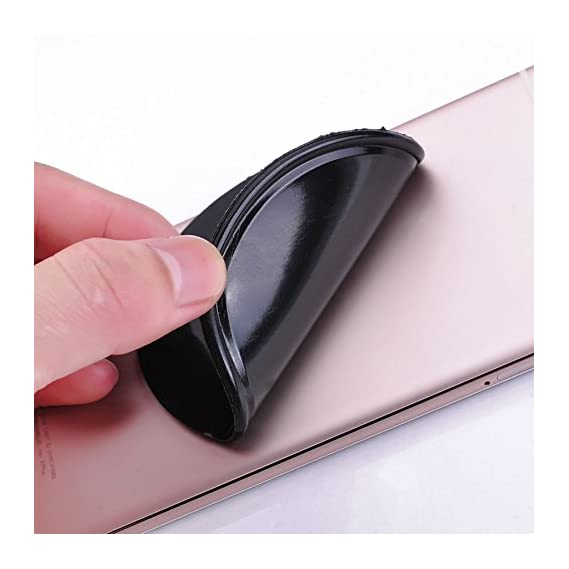 BLULOTUS High Quality Cell Phone Pads,Sticky Anti-Slip GEL Pads,can Stick to Glass, Mirrors, Whiteboards, Metal, Kitchen