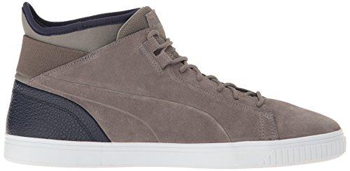 Puma Mens Play B&C Fashion Sneaker Steel Gray/Peacoat