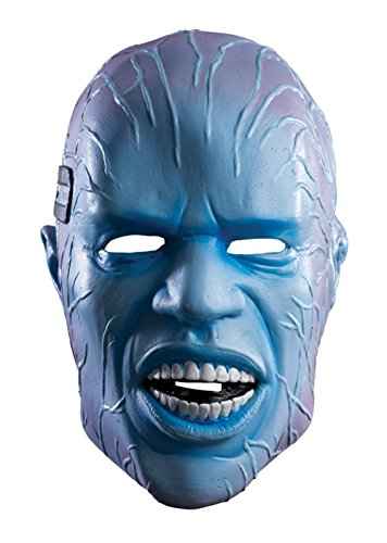 Rubie's Costume Men's The Amazing Spider-man 2 Adult Electro Overhead Deluxe Latex Mask, Multi, One (Latex Spiderman Mask)