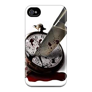 AngelaMs Perfect Tpu Case For Iphone 4/4s/ Anti-scratch Protector Case (kill Some Time)