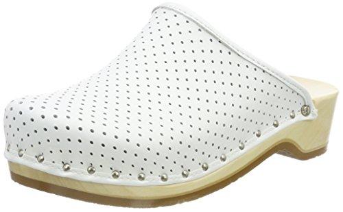 Berkemann Unisex - Adults Standard Toeffler 400 Clogs & Mules White - White