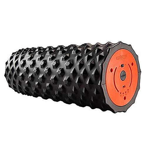 NCBH Electric Foam Roller Trigger Point,Vibrating Foam Roller Deep Tissue 3-Speed Massager for Muscle Recovery for Runner Cyclist Footballer Athlete ()