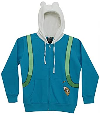 Adventure Time Finn Men Hoodie S At Amazon Men S