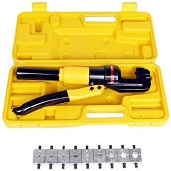 Crimpers 10 Ton Hydraulic Crimping Battery Cable Wire