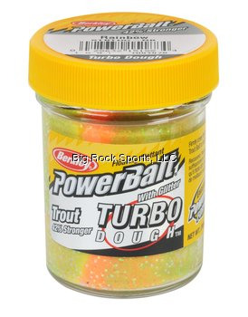 PowerBait Glitter Turbo Dough Glitter Trout Bait