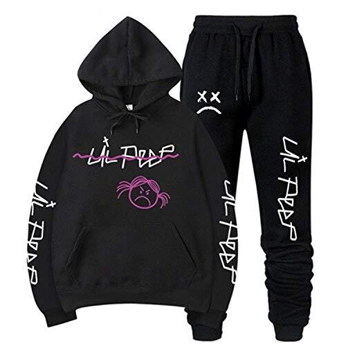 Lil Peep Hoodies Sweatshirt Sweatpants Black White Multicolored Colorful Cotton UnisexCry Baby 73
