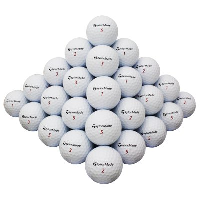 100 Taylormade Mix golf balls *Wholesale Lots** from SOCIAL BRAND GOLF