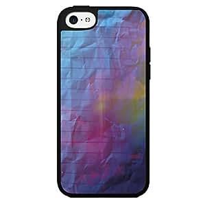 Galaxy Nubula Note Book Paper Hard Snap on Phone Case (iPhone 5c)