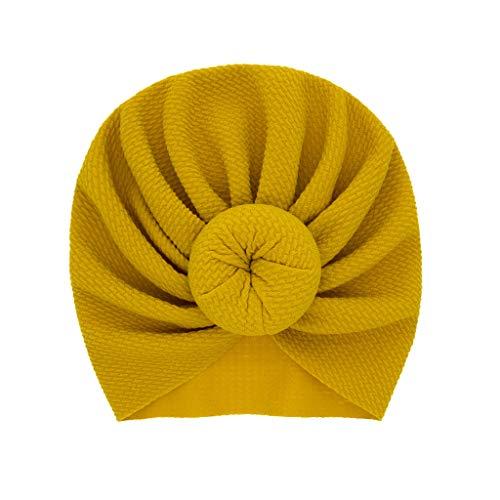 Hukehzu Baby Turban Headband Newborn Baby Boy Girl Knotted Hat Beanie Headwear Cap Baby Headband Leopard Print