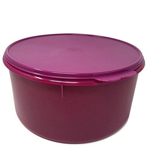 (Tupperware Jumbo Round Storage Container Canister Berry Purple)