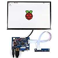 GeeekPi 10.1 Inch 1280 X 800 HD Screen TFT LCD Display HDMI Monitor for Raspberry Pi 3/2 Model B/B+