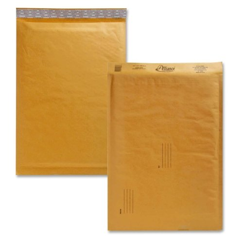 Alliance Naturewise Hefty Cushioned Mailers-Envelopes,No. 6,Bubble (Alliance Rubber Bubble Mailers)