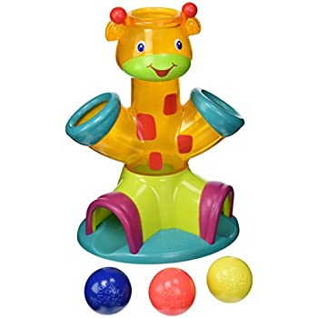 Amazon Com Fisher Price Go Baby Go Sit To Stand Giraffe