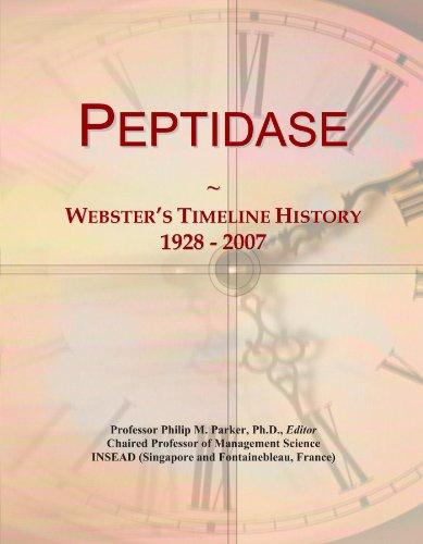 Peptidase: Webster's Timeline History, 1928 - 2007