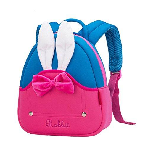 OFUN Toddler Girl Backpack, 3D Rabbit Backpck f...