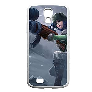 Caitlyn-002 League of Legends LoL For Case Iphone 4/4S Cover Hard White