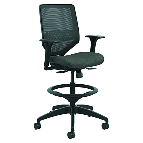 HON SVSM1ALCO10 Solve Series Mesh Back Task Stool Ink by HON