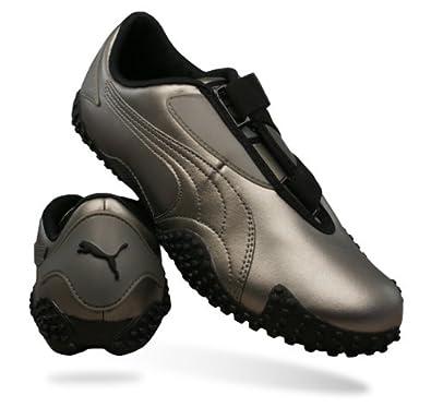 Puma Mostro Metallic Womens Leder Schuhe Sneaker Schuh