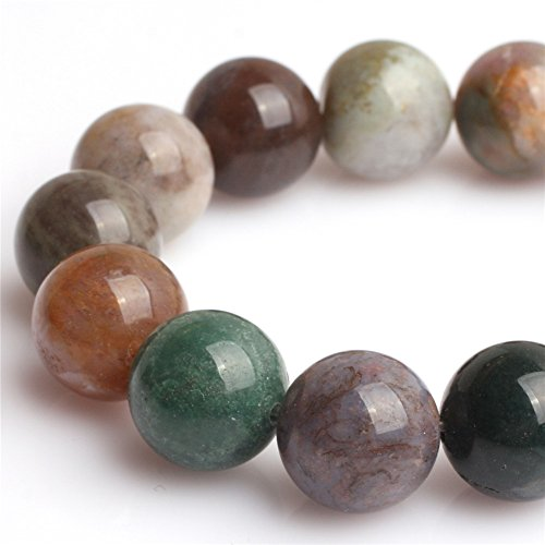 Round Ocean Jasper Beads Gemstone Beads For Jewelry Making Loose Beads In Bulk Wholesale Beads Handmade DIY One Strand 15 (6mm, GI1895)