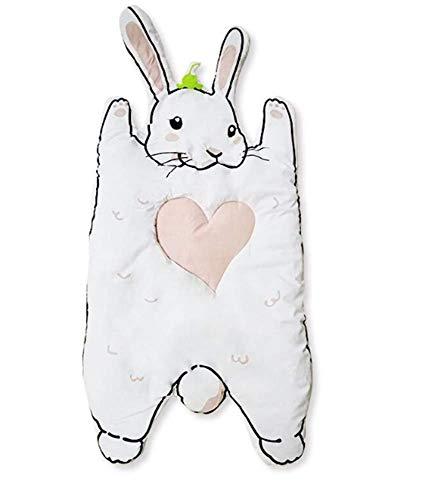 (JASONN Cotton Carpet, Cartoon Creeping Mat Baby Infant Blanket Play Game Mat Room Decoration Round Crawling Activity Pad Carpet,A)