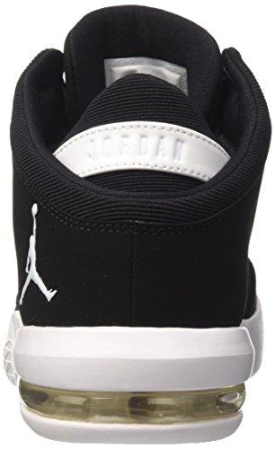 Nike Herren Jordan Flight Origin 4 Basketballschuhe Schwarz (nero / Bianco-palestra Rosso)