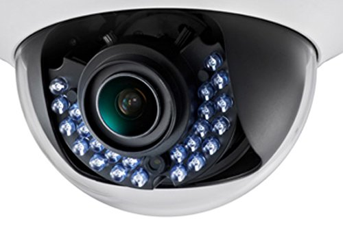 Hikvision USA DS-2CE56C5T-AVFIR Camera, Indoor Dome, HD720P, 2.8-12 mm by Hikvision