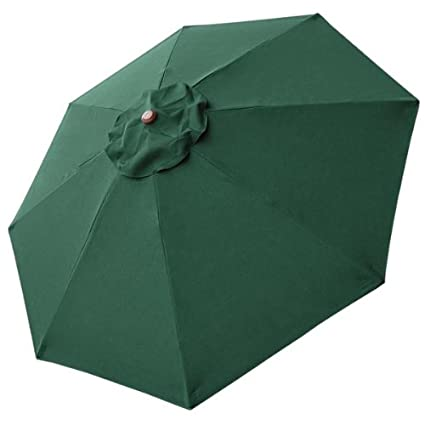 Amazing 8 Ft Patio Umbrella Replacement Sunshade Canopy Outdoor Top Green 8 Foot 8  Ft Green