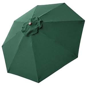 Amazon Com 8 Ft Patio Umbrella Replacement Sunshade
