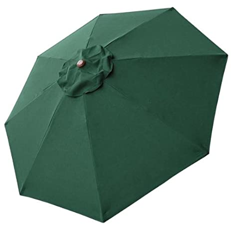 8 Ft Patio Umbrella Replacement Sunshade Canopy Outdoor Top Green 8-foot 8 Ft Green  sc 1 st  Amazon.com & Amazon.com : 8 Ft Patio Umbrella Replacement Sunshade Canopy ...