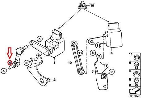 GTV INVESTMENT X3 E83 Frontscheinwerfer-Einstellstab 37143412759