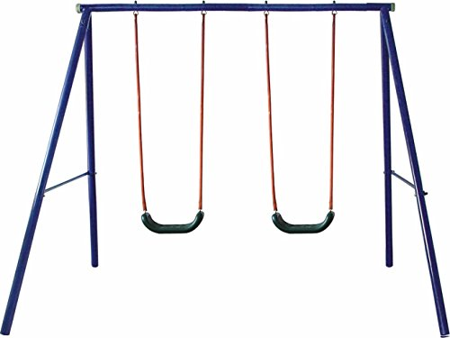 Movement God Metal A-Frame Two Seat Swing (Metal Swing Seats)