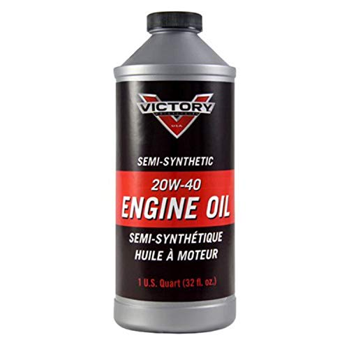 Victory Motorcycles Semi-Synthetic 20W-40 Engine Oil 1 Quart (Best Semi Synthetic Engine Oil)