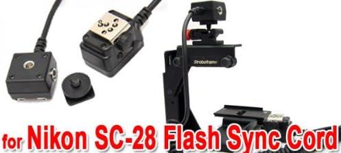 DSLRKIT 1//4in-20 Tripod screw to Flash Hot Shoe Mount Adapter