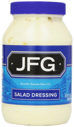 JFG Salad Dressing in Plastic Jar, 30-Ounce (Pack of 4)
