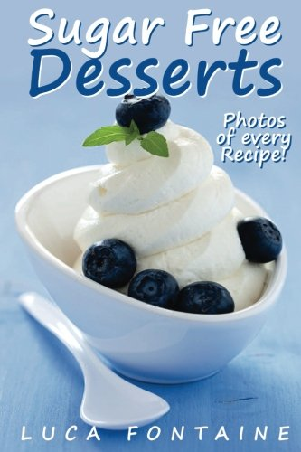 Sugar Free Desserts Cookbook Nutrition product image