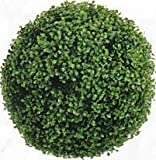 16 inch Artificial Boxwood Ball Topiary Plant
