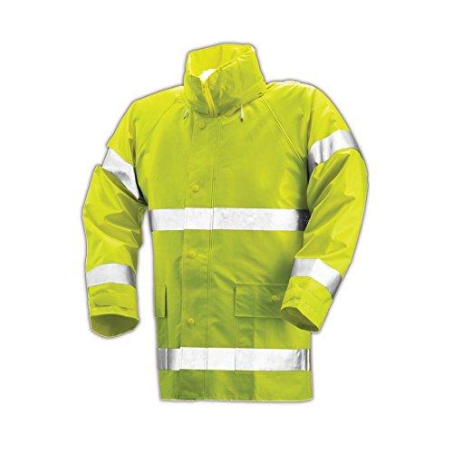 Comfort Brite 14 Mil Hi-Viz Rain Jacket by TINGLEY