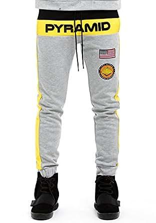 Black Pyramid Block Pants (S, Grey) at Amazon Men's ...