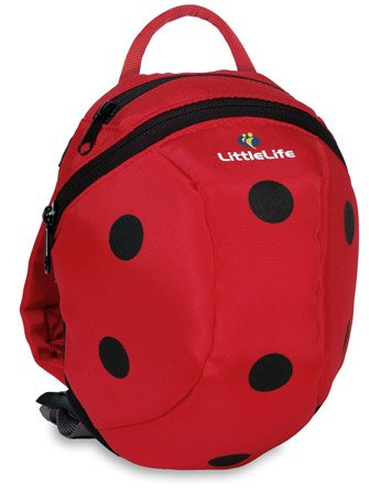Littlelife Toddler Animal Daysack Parent Safety Rein/ Strap in 10 Exciting Designs (Ladybird) by Life Systems