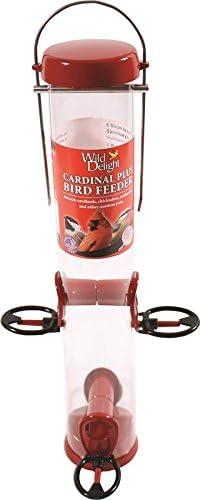 Red Droll Yankees Inc WDCP15 Cardinal Feeder 15-Inch