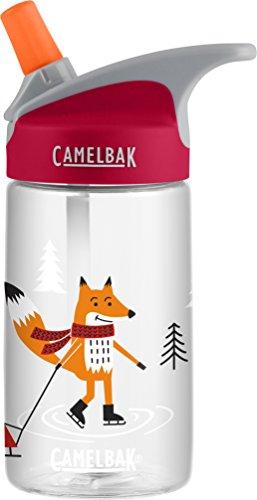 CamelBak Eddy Kids Water Bottle, Foxes on Ice, 0.4L