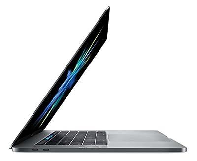 Apple 15in MacBook Pro, Retina, Touch Bar, 2.8GHz Intel Core i7 Quad Core, 16GB RAM, 256GB SSD, Space Gray, MPTR2LL/A (Renewed)